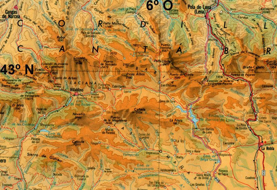 Glaciarismo Pleistoceno Cordillera Cantabrica