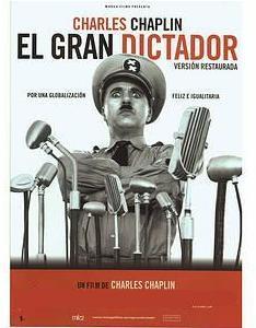 """Cartel de """"El gran dictador"""". Fuente: picnic.ciao.com"""